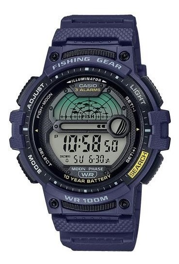Reloj Casio Fishing Gear Ws-1200h-2 Sports Gear
