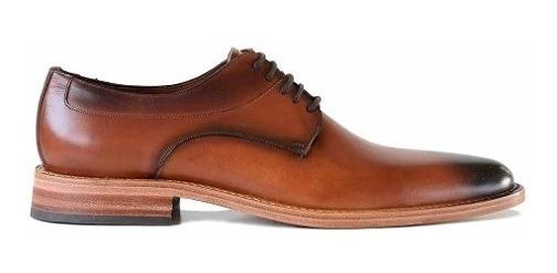 Zapato Cuero Hombre Briganti Acordonado Vestir - Hcac00909 1