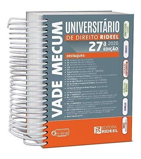 Vade Mecum Universitário De Direito Rideel - Novo - 2020