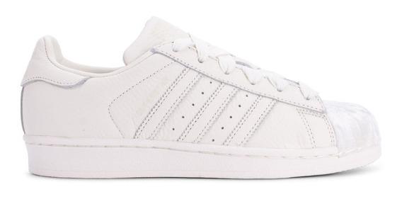 Tenis adidas Superstar W Concha Blancos Comodos Originals