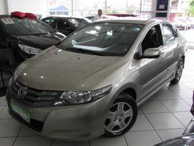 Honda City 1.5 Lx Flex 4p 2011 Dourado