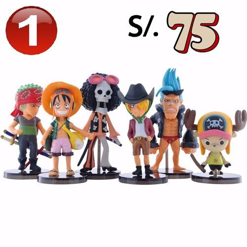 Figuras Muñecos Anime One Piece Sets Sagas Variadas