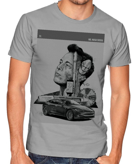 Camiseta Elon Musk | Crediar