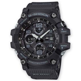 Relógio Casio G-shock Mudmaster Solar Anadigi Gsg-100-1adr