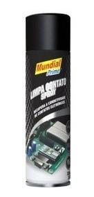 Limpa Contato Spray Eletrônico 300ml Mundial Prime C/10 Unid