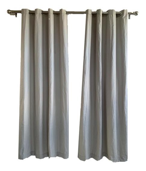 Set 2 Cortinas Decorativas Sala/habitación 135x230cm