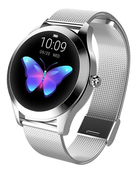 Reloj Inteligente Kingwear Kw10 Ip68 Deportivo Para Mujeres