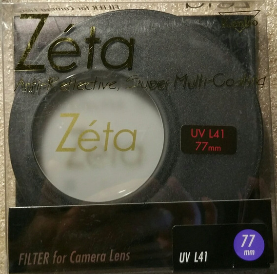 Filtro Kenko Zéta Ar Super Multi-coating 77mm L41 Uv