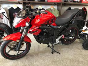 Suzuki Gixxer 150cc Color Rojo Año 2019 0km Motoshop Ezeiza