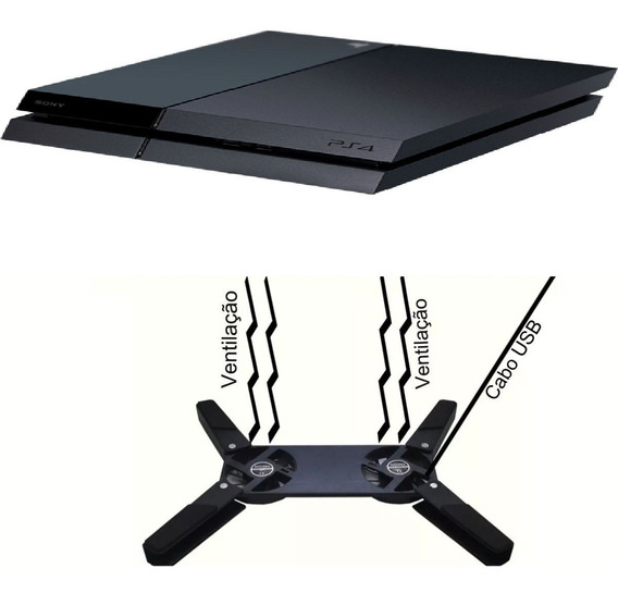 Cooler Notebook Universal Portátil Ps2 Ps3 Xbox One Ps4 Box