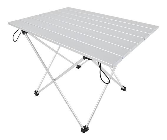 Mesa De Aleación De Aluminio Plegable Mesa De Escritorio Par