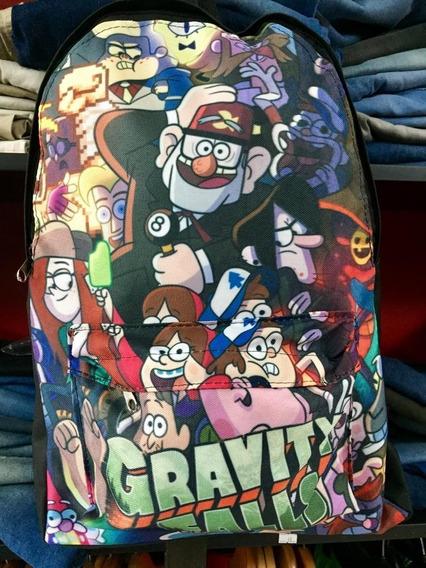 Mochila Gravity Falls Dipper Mabel Wendy Stanley