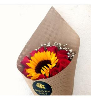 Rollo De Papel P/flores Perforado Kraft 10 Kg