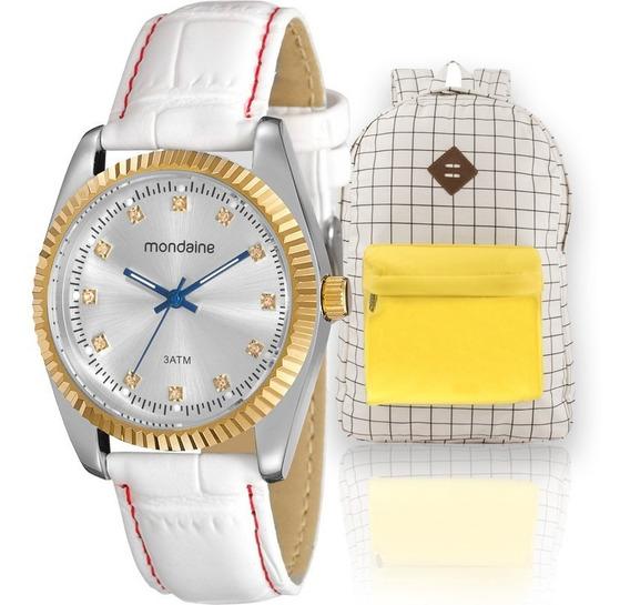 Kit Relógio Mondaine Feminino Barato Garantia Nfe