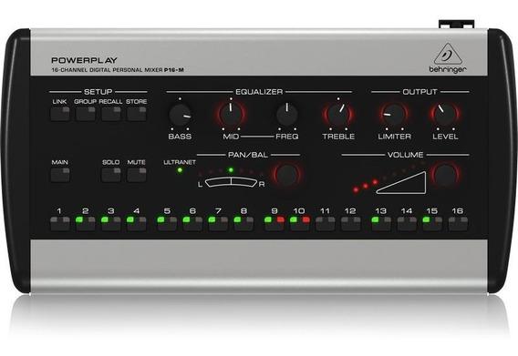 Monitor Pessoal De Retorno Behringer P16-m Powerplay