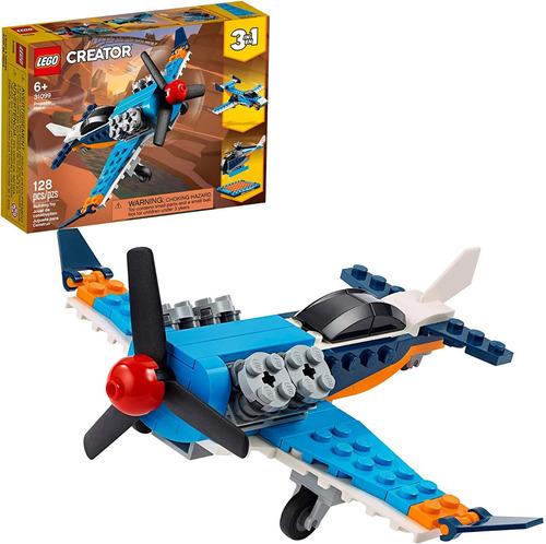 Lego Creator 31099 - Kit De Const Juguete Volador 128 Piezas
