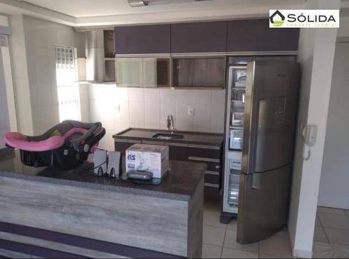Apartamento Com 3 Dormitórios À Venda, 71 M² Por R$ 320.000 - Jardim Tamoio - Jundiaí/sp - Ap0948