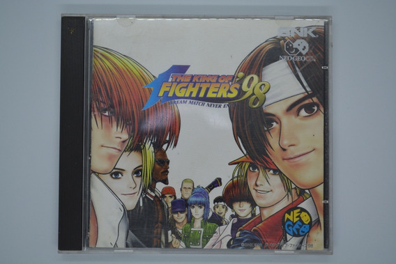 The King Of Fighters 98 Original Neo Geo Cd Japonês