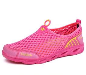 Tenis Antideslizante Para Agua Fashion Rosa Ros Para Alberca