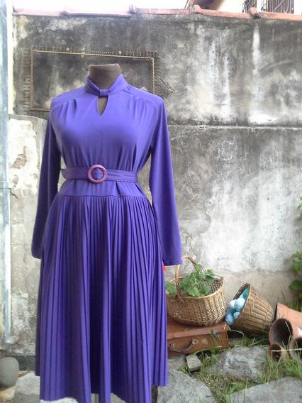 Vestido Violeta - Talle L