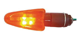 Faro Moto Gvs By Drook Mini Universal Flecha Naranja Led