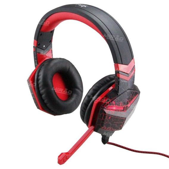 Acessórios Para Pc Ps3 Ps4-headset Hedphone Fr 511 Com Leds