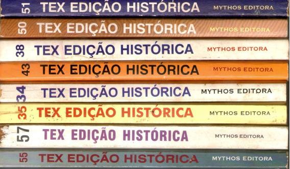 Hq Tex Willer Edições Histórica Mythos Editora