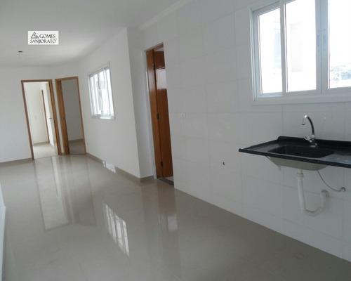 Apartamento A Venda No Bairro Parque São Vicente Em Mauá - Sp. 1 Banheiro, 2 Dormitórios, 1 Vaga Na Garagem, 1 Cozinha,  Área De Serviço,  Copa,  Sala De Tv.  - 2678 - Ap01129 - 34724711