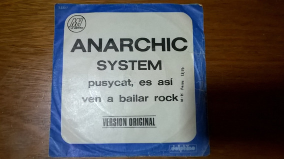 Anarchic System - Disco Simple - Pusycat, Es Asi/ven A Baila