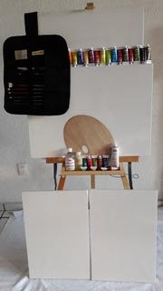 Kit,profesional, El Más Completo Para Pintar Al Oleo .