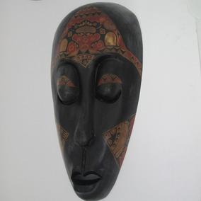 Mascara De Madeira Da Indonesia Lombok 50 Cm