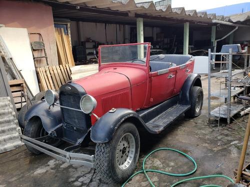 Ford Phaeton 1929 Vermelho (baixando O Valor De 25 Pra 18)
