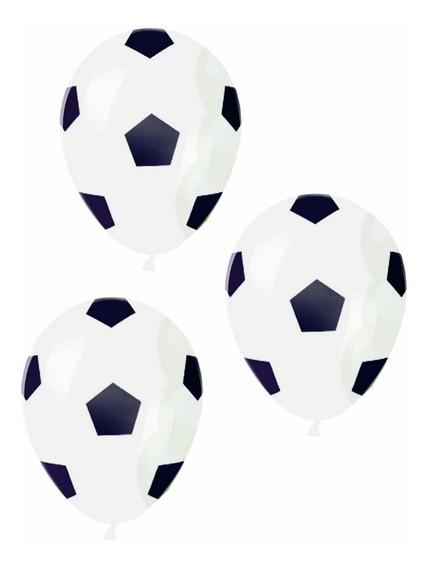 Globos Fiesta Fútbol Soccer Figura Balón Adorno Mundial Dkh