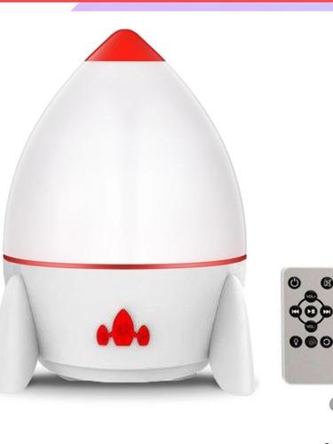 Lampara Proyector Espacial Bluetooth Recargable 6 Opciones