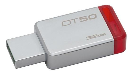 Unidad Flash Usb 3.1 Kingston Datatraveler 50 Con Elegante