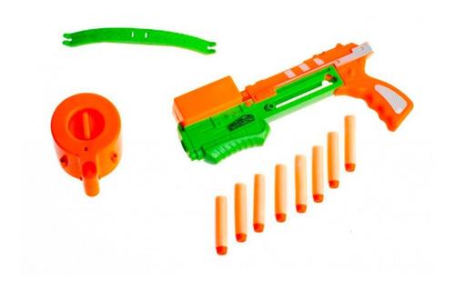 Pistola Con Dardos Soft Juego Niños Cuotas