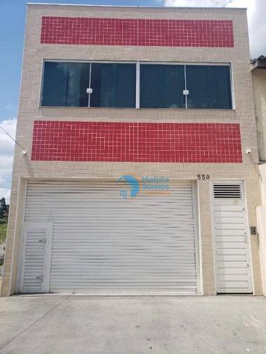 Salão À Venda, 210 M² Por R$ 650.000 - Portais - Cajamar/sp - Sl0014