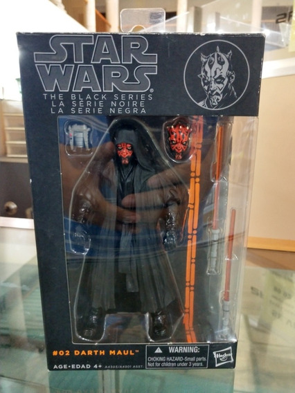 Star Wars Black Series Darth Maul Original 1a Edición