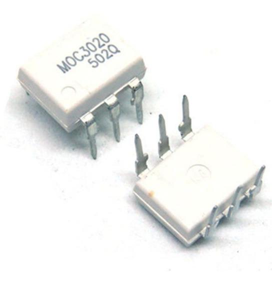 10 Peças - Moc3020 Dip6