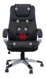 Cadeira Presidente Luxo Com Massagem E Aquecimento