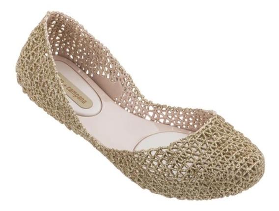Melissa Campana Papel Vii Bege Glitter 100% Original