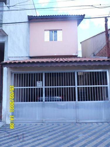 Imagem 1 de 24 de Sobrado Com 3 Dormitórios À Venda, 156 M² Por R$ 520.000 - Jardim Marek - Santo André/sp - So0448