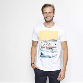 0fe683153 Camiseta Masculina Estampada Colcci Tam P Vários Modelos · 2 cores. R$ 120