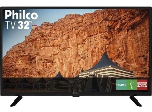 Tv Lcd Philco 24 Com Sistema Box Smart Tv Acoplado Canais