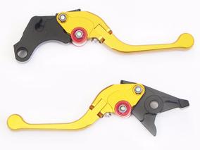 Manetes 2 Dedos Dobraveis Nc 700 S/x 12/13 Hornet 98/06