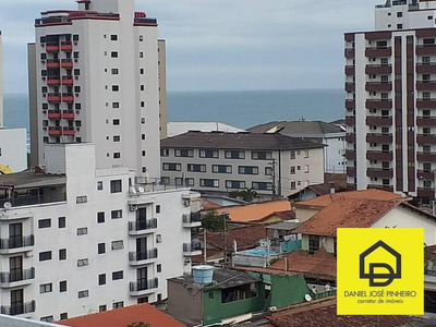 Apartamento Com 1 Dorm Mobiliado - Guilhermina/praia Grande/sp - Ap0210