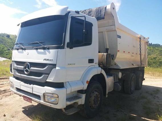 Mercedes Benz Axor 2831 6x4 Tracado Ano 2013/14