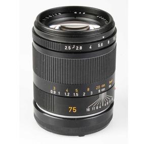 Objetiva Leica Summarit-m 75mm F2.5 6-bits