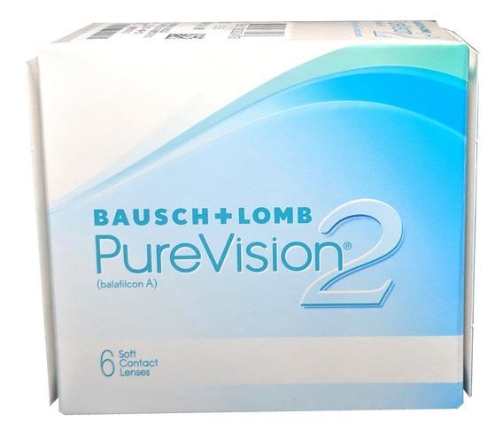 Lentes De Contacto Bausch & Lomb Purevision2 6 Pzas Mensual