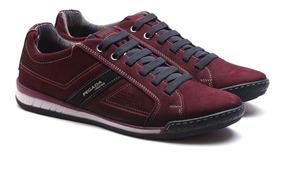 Sapatênis Pegada Jeans Carmenere / Nobuck Marinho 116908 07
